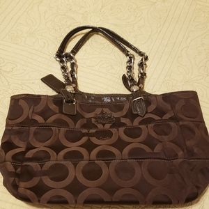 EUC!! BROWN COACH*** GREAT FOR FALL!